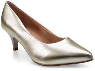Sapato Feminino Beira Rio 4076350 Dourado - Tamanho Médio