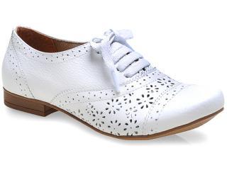 Sapato Feminino Bela Flor 2006001 Branco - Tamanho Médio