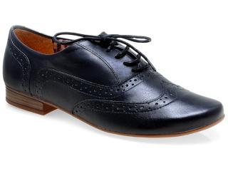 Sapato Feminino Bottero 208801 Preto - Tamanho Médio