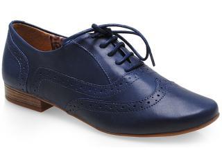 Sapato Feminino Bottero 208801 Marinho - Tamanho Médio