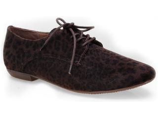 Sapato Feminino Bottero 208004 Onca/brown - Tamanho Médio