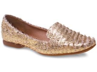 Sapato Feminino Bottero 230503 Dourado - Tamanho Médio