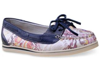Sapato Feminino Bottero 236601 Uva/marinho - Tamanho Médio