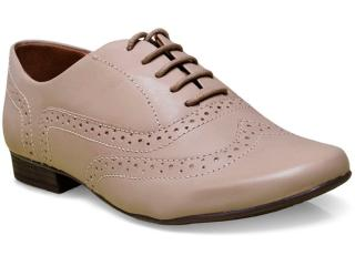 Sapato Feminino Bottero 242501 Amendoa - Tamanho Médio