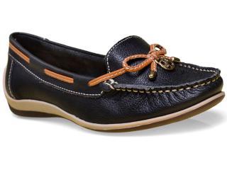 Sapato Feminino Bottero 250001 Preto/caramelo - Tamanho Médio