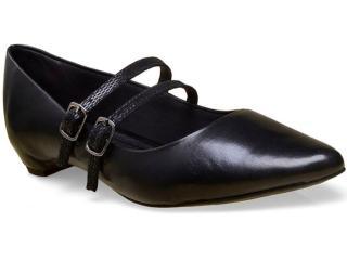Sapato Feminino Bottero 247604 Preto - Tamanho Médio