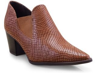 Sapato Feminino Bottero 300305 Caramelo - Tamanho Médio