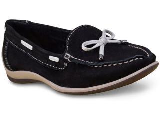 Sapato Feminino Bottero 268801 Preto/off White - Tamanho Médio