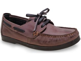 Sapato Masculino Bras America 6065 Pinhao - Tamanho Médio