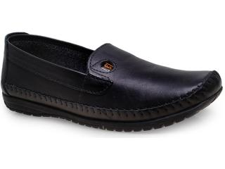 Sapato Masculino Bras America 5051 Preto - Tamanho Médio