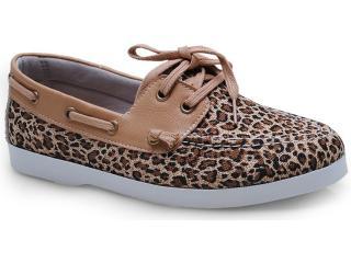 Sapato Feminino Brenners 4000 Onca - Tamanho Médio
