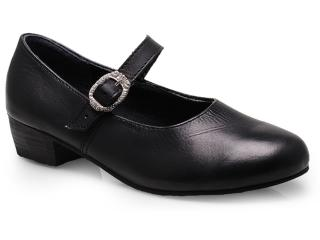 Sapato Feminino Brenners Sap 001 Preto - Tamanho Médio