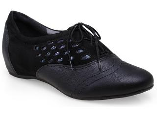 Sapato Feminino Campesi 4123 Preto - Tamanho Médio