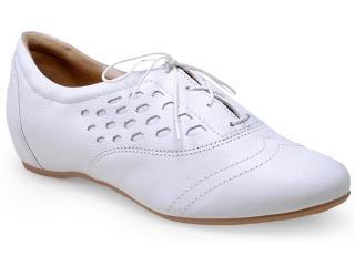 Sapato Feminino Campesi 4123 Branco - Tamanho Médio
