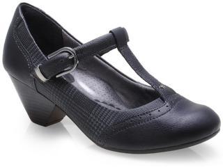 Sapato Feminino Campesi 4133 Preto - Tamanho Médio