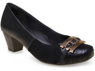 Sapato Feminino Campesi 4871 Preto - Tamanho Médio