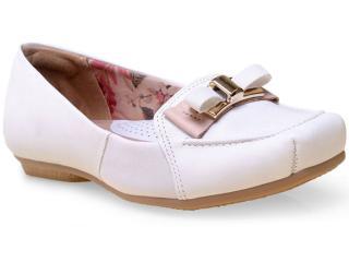 Sapato Feminino Campesi 5073 Branco - Tamanho Médio