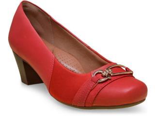 Sapato Feminino Campesi 5371 Vermelho - Tamanho Médio
