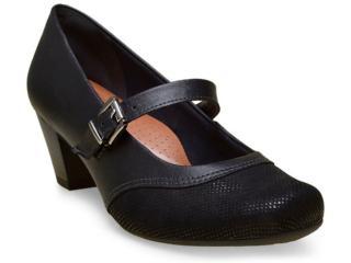 Sapato Feminino Campesi 5375 Preto - Tamanho Médio