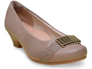 Sapato Feminino Campesi 5451 Taupe - Tamanho Médio