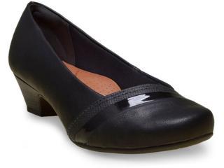 Sapato Feminino Campesi 5452 Preto - Tamanho Médio