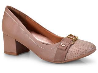 Sapato Feminino Campesi L6163 Marrom - Tamanho Médio