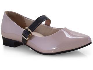 Sapato Feminino Campesi L6523 Blush/preto - Tamanho Médio