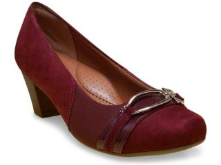 Sapato Feminino Campesi 3520 Vinho - Tamanho Médio