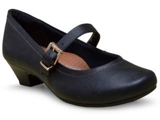 Sapato Feminino Campesi 5752 Preto - Tamanho Médio