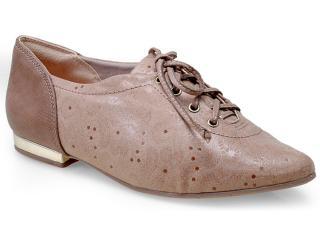 Sapato Feminino Comfortflex 14-54305 Avelã - Tamanho Médio