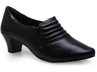 Sapato Feminino Comfortflex 14-95305 Preto - Tamanho Médio