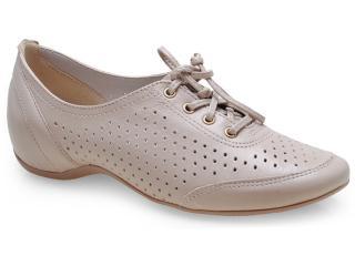 Sapato Feminino Comfortflex 14-94405 Palha - Tamanho Médio