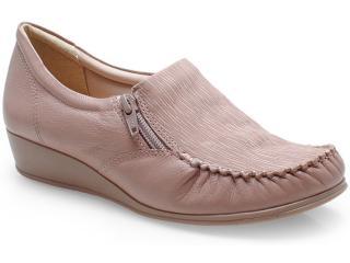 Sapato Feminino Comfortflex 14-93405 Amendoa - Tamanho Médio