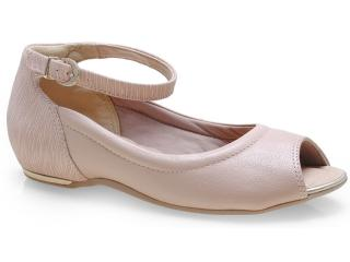Sapato Feminino Comfortflex 14-76405 Nude - Tamanho Médio