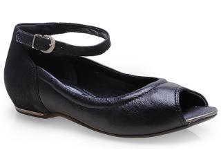 Sapato Feminino Comfortflex 14-76405 Preto - Tamanho Médio