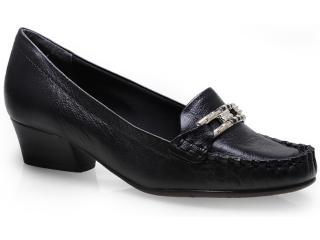Sapato Feminino Comfortflex 14-66405 Preto - Tamanho Médio