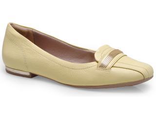 Sapato Feminino Comfortflex 14-63405 Amarelo - Tamanho Médio
