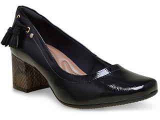 Sapato Feminino Comfortflex 16-67301 Preto - Tamanho Médio