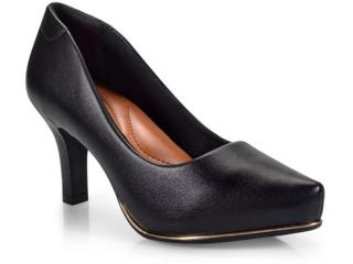 Sapato Feminino Comfortflex 17-85401 Preto - Tamanho Médio