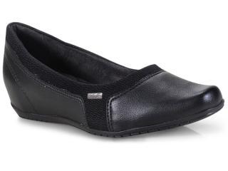 Sapato Feminino Comfortflex 18-94301 Preto - Tamanho Médio