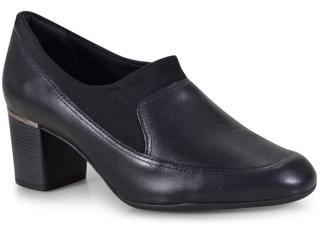 Sapato Feminino Comfortflex 18-67305 Preto - Tamanho Médio