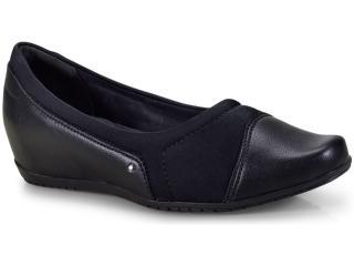 Sapato Feminino Comfortflex 18-94305 Preto - Tamanho Médio