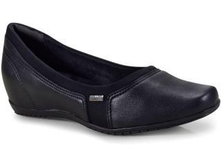 Sapato Feminino Comfortflex 18-94301/1 Preto - Tamanho Médio