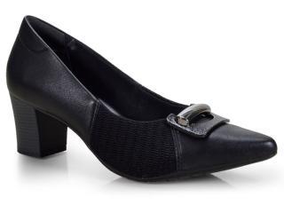 Sapato Feminino Comfortflex 18-81406 Preto - Tamanho Médio