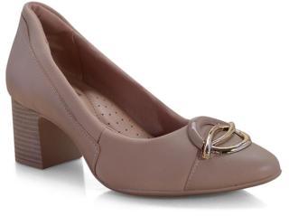 Sapato Feminino Comfortflex 19-54305 Avelã - Tamanho Médio