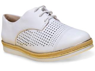 Sapato Feminino Comfortflex 17-64301 Branco - Tamanho Médio