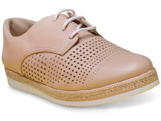 Sapato Feminino Comfortflex 17-64301 Nude - Tamanho Médio