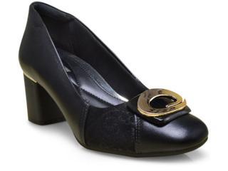 Sapato Feminino Comfortflex 17-67305 Preto - Tamanho Médio
