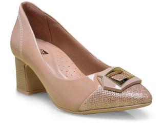 Sapato Feminino Comfortflex 17-54305 Avelã - Tamanho Médio