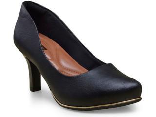 Sapato Feminino Comfortflex 16-85401/1 Preto - Tamanho Médio